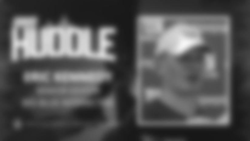 Giants Huddle | Eric Kennedy