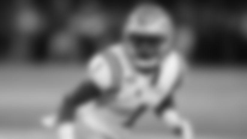 UCLA defensive back Darnay Holmes (1) during an NCAA college football game against Arizona, Saturday, Sept. 28, 2019, in Tucson, Ariz. (AP Photo/Rick Scuteri)