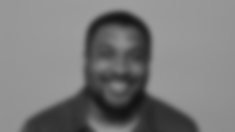 This is a 2021 photo of Nick Williams of the New York Giants NFL football team. This image reflects the New York Giants active roster as of April 16, 2021  when this image was taken. (Evan Pinkus New York Giants)