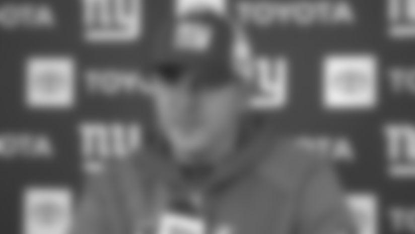 Coach Joe Judge discusses Saquon Barkley's injury status