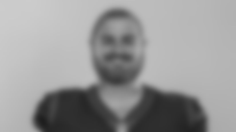 This is a photo of Cullen Gillaspia of the Houston Texans NFL football team. This image reflects the Houston Texans active roster as of Tuesday, Aug. 4, 2020. (AP Photo)