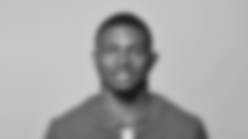 This is a 2018 photo of Alonzo Russell of the New York Giants NFL football team. This image reflects the New York Giants active roster as of May 10, 2018 when this image was taken. (AP Photo)