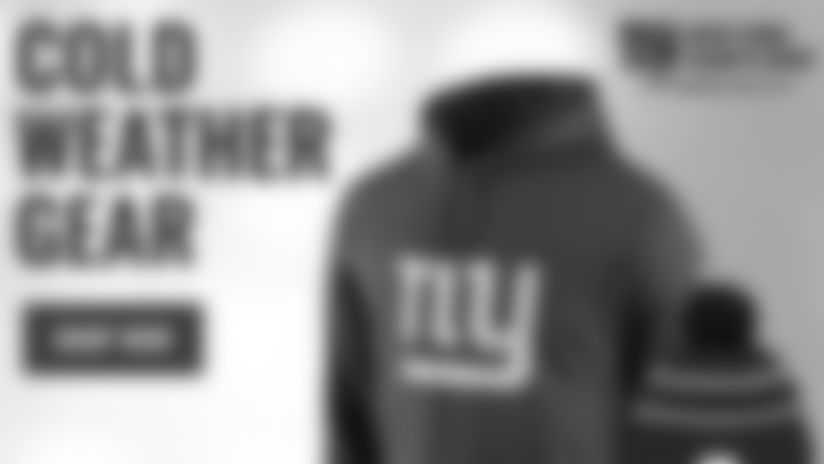 Shop New York Giants Cold Weather Gear