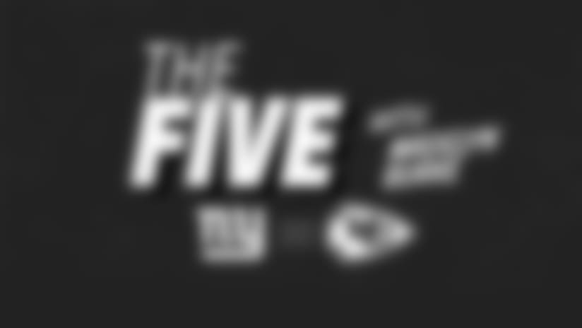 """The Five "" What you need to know about NYG-KC"