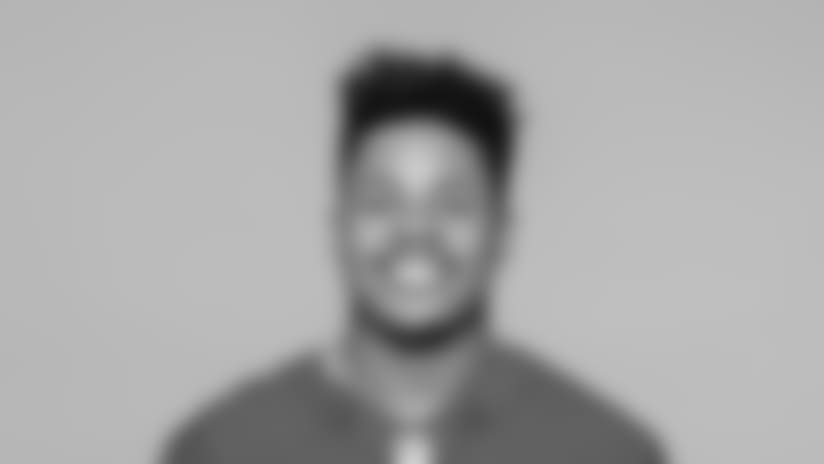 This is a 2018 photo of Sterling Shepard of the New York Giants NFL football team. This image reflects the New York Giants active roster as of June 11, 2018 when this image was taken. (AP Photo)