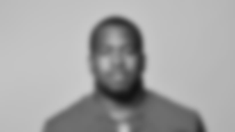 This is a 2018 photo of B. J. Hill of the New York Giants NFL football team. This image reflects the New York Giants active roster as of May 10, 2018 when this image was taken. (AP Photo)