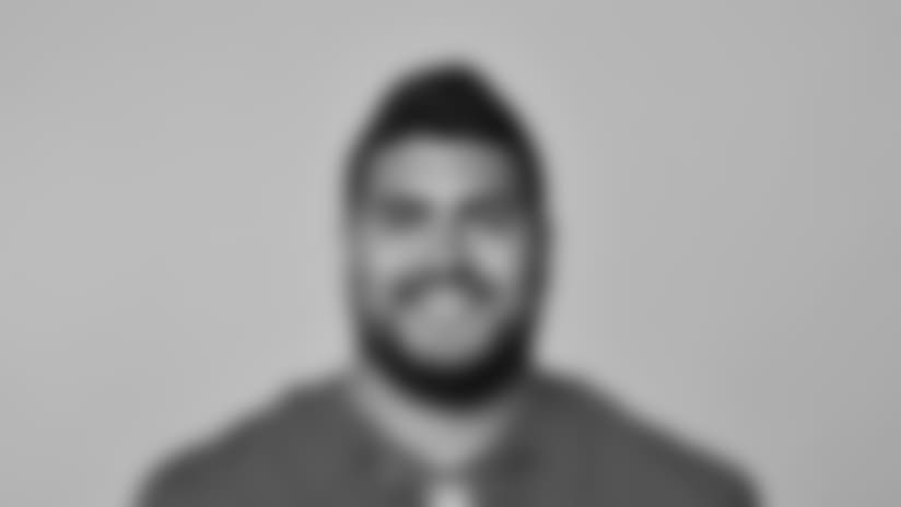 This is a 2018 photo of Will Hernandez of the New York Giants NFL football team. This image reflects the New York Giants active roster as of May 10, 2018 when this image was taken. (AP Photo)