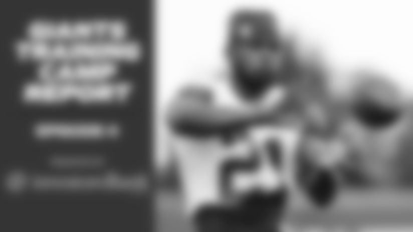 Giants Training Camp Report 8/14: Look in on practice