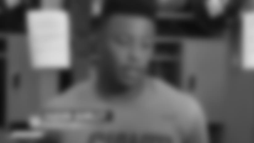 Saquon Barkley on team's mindsetheading into Week 3