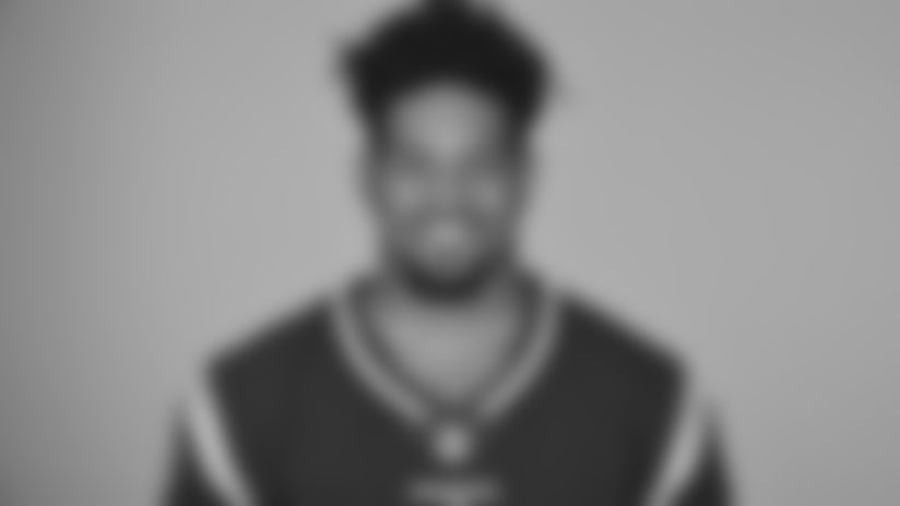 This is a 2019 photo of Trent Harris of the New England Patriots NFL football team. This image reflects the New England Patriots active roster as of Monday, June 3, 2019 when this image was taken. (AP Photo)