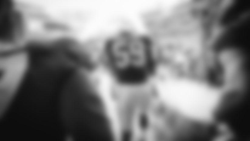 New York Giants linebacker Lorenzo Carter (59) at preseason week 1 game against the New York Jets at MetLife Stadium in East Rutherford, NJ