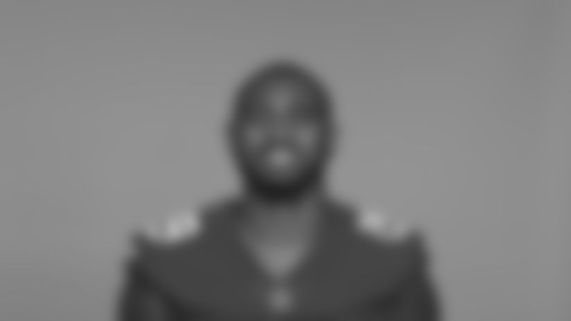 This is a 2020 photo of Jaquarius Landrews of the  New York Giants NFL football team. This image reflects the New York Giants active roster as of August 1, 2020 when this image was taken. (AP Photo)