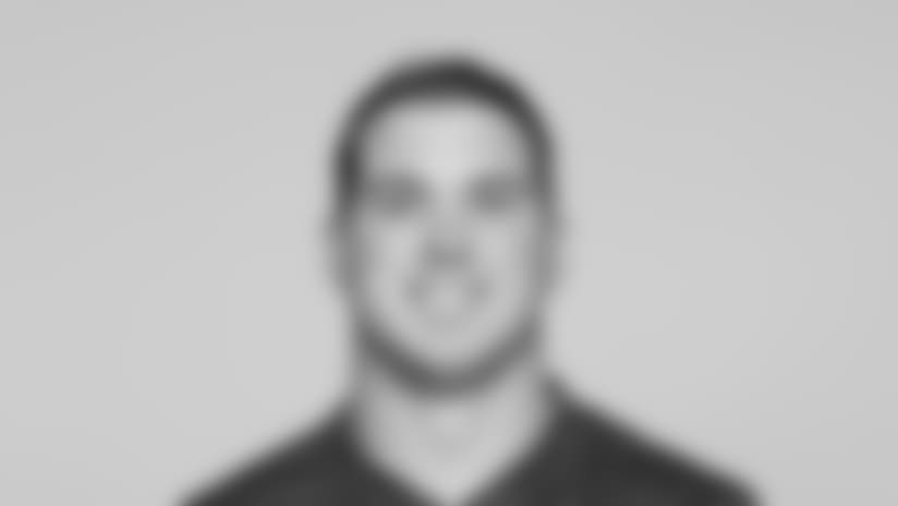 This is a 2015 photo of Zak DeOssie of the New York Giants NFL football team. This image reflects the New York Giants active roster as of  June 15,2015 when this image was taken. (AP Photo)