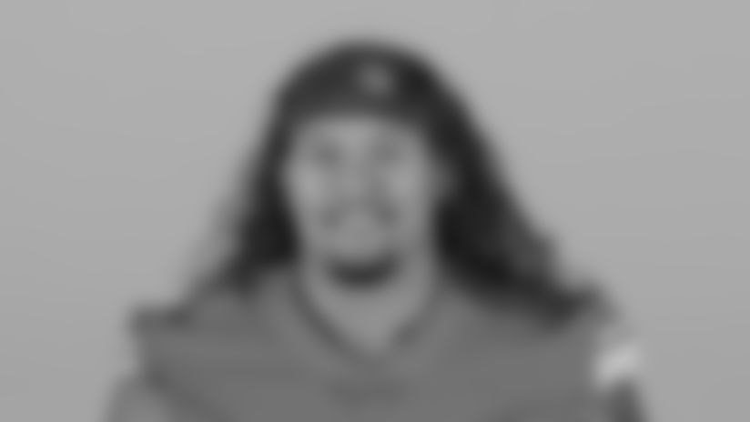 This is a 2020 photo of Danny Shelton of the Detroit Lions NFL football team. This image reflects the Detroit Lions active roster as of Saturday, Aug. 1, 2020 when this image was taken. (AP Photo)