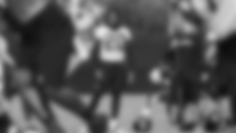Jacksonville Jaguars cornerback Jalen Ramsey (20) and cornerback A.J. Bouye (21) are seen during practice, Thursday, July. 25th, 2019 in Jacksonville, Fla. (Logan Bowles via AP)
