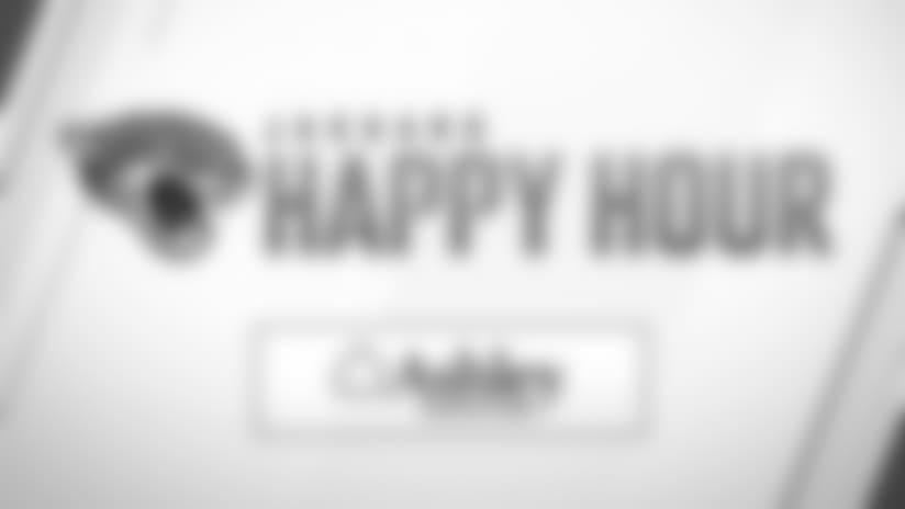 Jaguars Happy Hour: Thursday, November 8