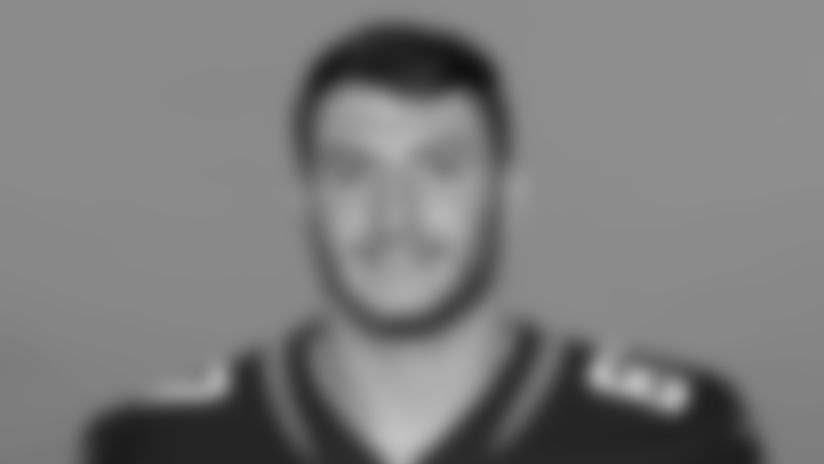 This is a 2020 photo of Tyler Davis of the Jacksonville Jaguars NFL football team. This image reflects the Jaguars active roster as of August 23, 2020 when this image was taken. (AP Photo)