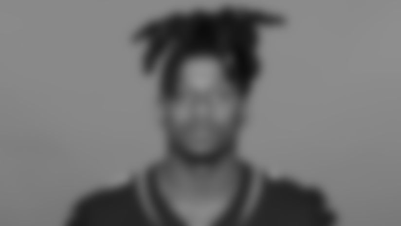 This is a 2020 photo of Chris Claybrooks of the Jacksonville Jaguars NFL football team. This image reflects the Jaguars active roster as of August 23, 2020 when this image was taken. (AP Photo)