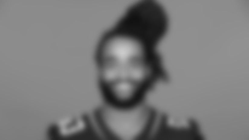 This is a 2020 photo of Dakota Allen of the Jacksonville Jaguars NFL football team. This image reflects the Jaguars active roster as of August 23, 2020 when this image was taken. (AP Photo)