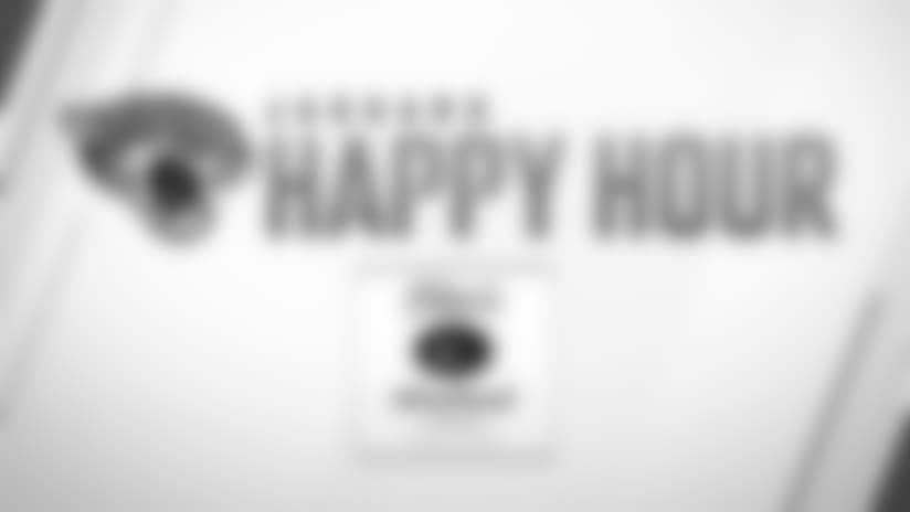 Jaguars Happy Hour: Tuesday, November 6