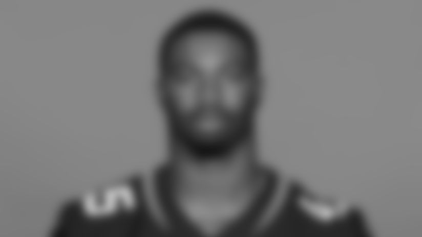 This is a 2020 photo of K'Lavon Chaisson of the Jacksonville Jaguars NFL football team. This image reflects the Jaguars active roster as of August 23, 2020 when this image was taken. (AP Photo)
