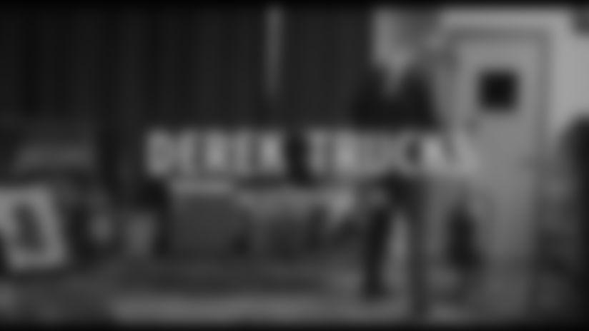 National Anthem performed by Jacksonville Native Derek Trucks
