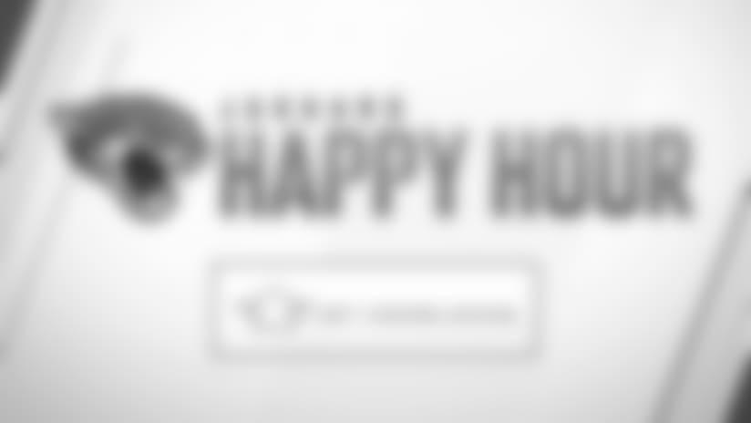 Jaguars Happy Hour: Monday, October 1