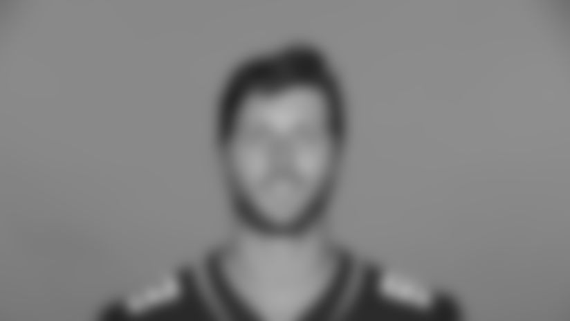 This is a 2020 photo of Tyler Eifert of the Jacksonville Jaguars NFL football team. This image reflects the Jaguars active roster as of August 23, 2020 when this image was taken. (AP Photo)