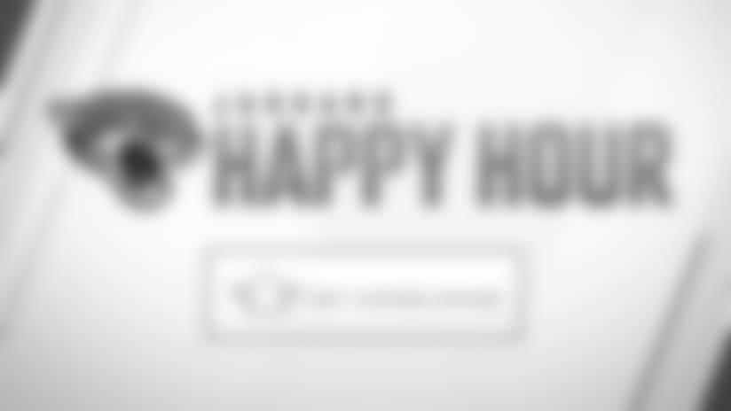 Jaguars Happy Hour: Monday, November 12