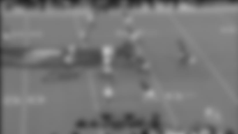 Montay Crockett perfectly tracks ball for 26-yard gain