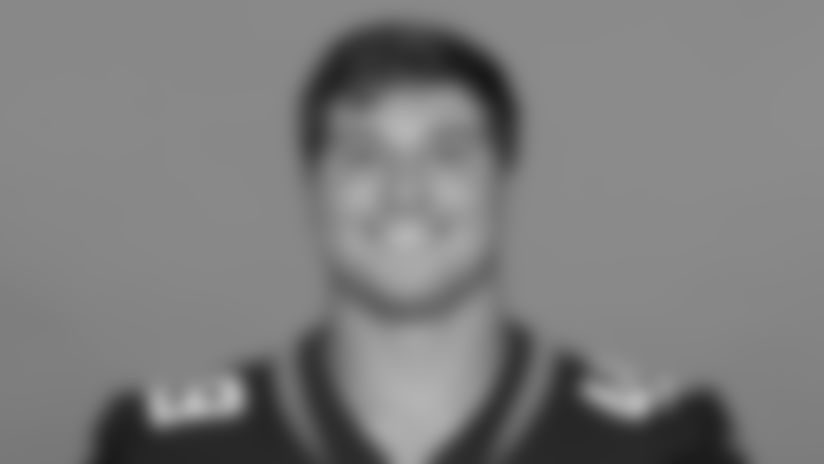 This is a 2020 photo of Ross Matiscik of the Jacksonville Jaguars NFL football team. This image reflects the Jaguars active roster as of August 23, 2020 when this image was taken. (AP Photo)
