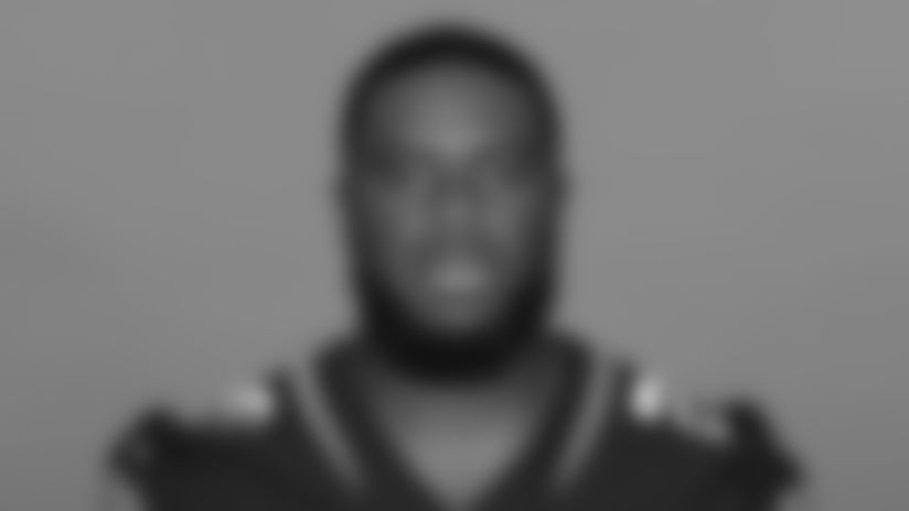 This is a 2020 photo of Daniel Thomas of the Jacksonville Jaguars NFL football team. This image reflects the Jaguars active roster as of August 23, 2020 when this image was taken. (AP Photo)