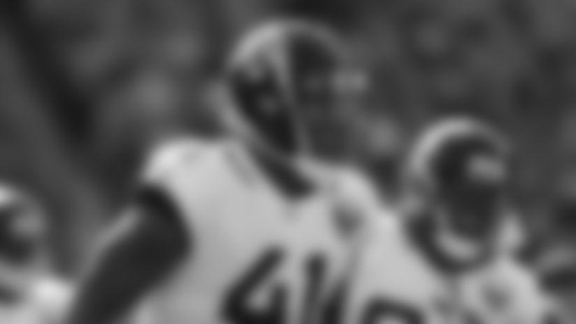 Jacksonville Jaguars defensive end Josh Allen (41) celebrates in the second half of an NFL football game against the Cincinnati Bengals, Sunday, Oct. 20, 2019, in Cincinnati. (AP Photo/Gary Landers)