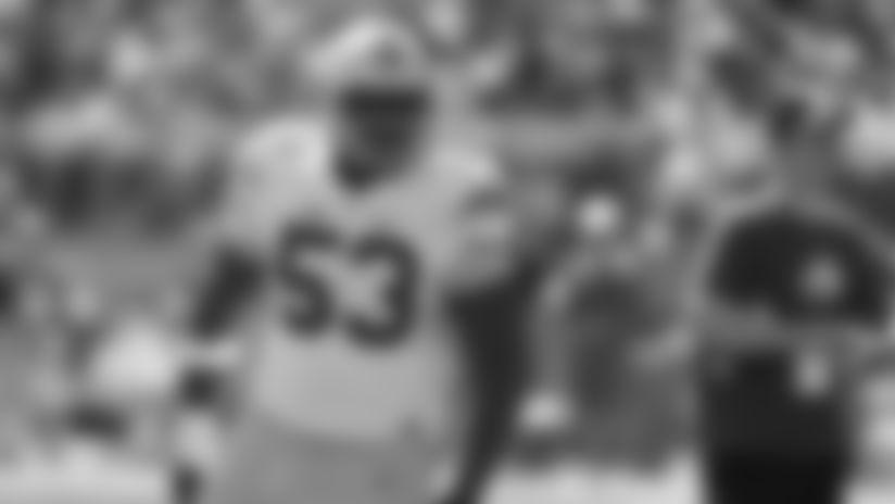 Ohio State defensive lineman Davon Hamilton plays in Ohio State's NCAA college football spring game Saturday, April 16, 2016, in Columbus, Ohio. (AP Photo/Jay LaPrete)