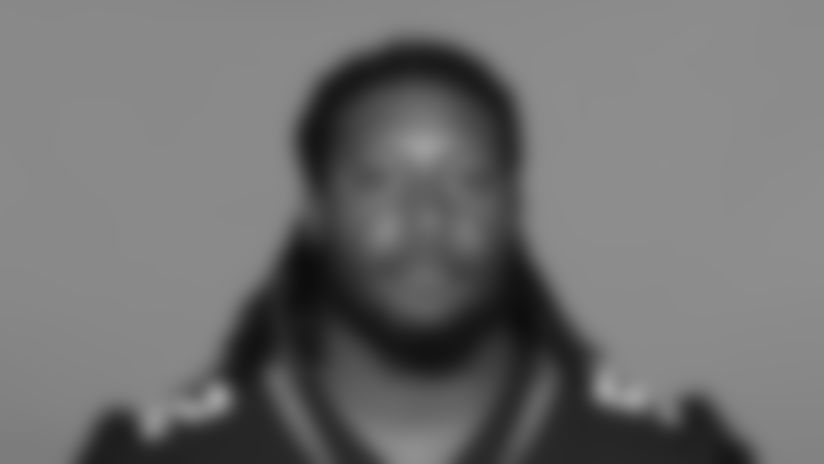 This is a 2020 photo of DaVon Hamilton of the Jacksonville Jaguars NFL football team. This image reflects the Jaguars active roster as of August 23, 2020 when this image was taken. (AP Photo)