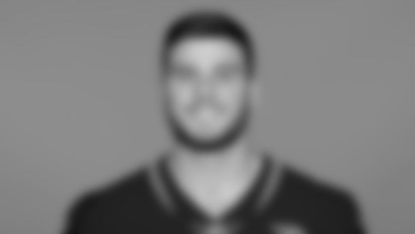 This is a 2021 photo of Luke Farrell of the Jacksonville Jaguars NFL football team. This image reflects the active roster as of Wednesday, May 12, 2021 when this image was taken.