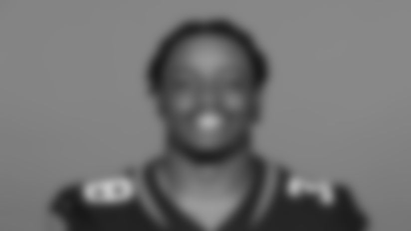 This is a 2020 photo of James Robinson of the Jacksonville Jaguars NFL football team. This image reflects the Jaguars active roster as of August 23, 2020 when this image was taken. (AP Photo)