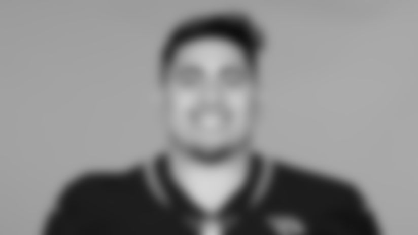 This is a 2019 photo of Jordan Agasiva of the Jacksonville Jaguars NFL football team. This image reflects the active roster as of Tuesday, May 14, 2019 when this image was taken. (AP Photo)