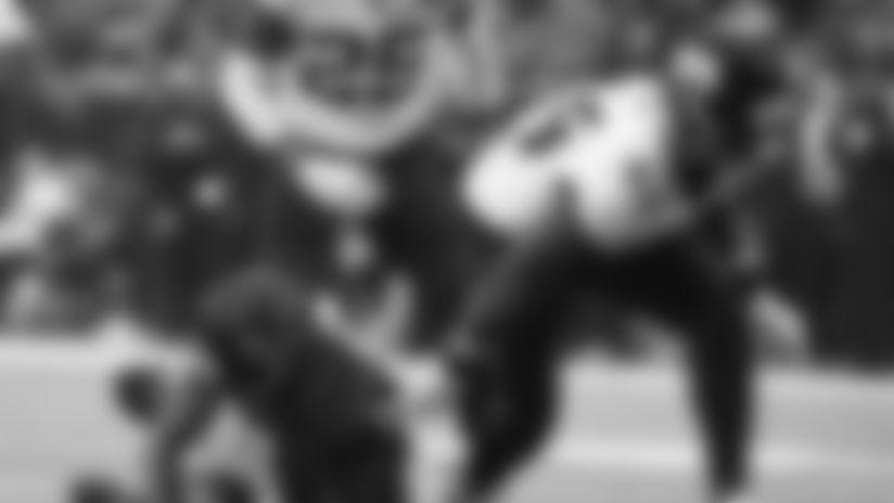 Jacksonville Jaguars middle linebacker Myles Jack (44) celebrates after sacking Houston Texans quarterback Deshaun Watson (4) during the first half of an NFL football game, Sunday, Dec. 30, 2018, in Houston. (AP Photo/Eric Christian Smith)