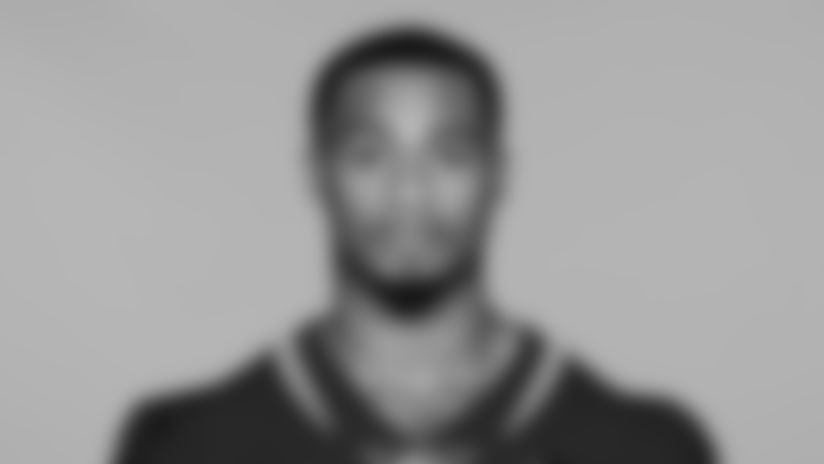 This is a 2019 photo of Taj McGowan of the Jacksonville Jaguars NFL football team. This image reflects the active roster as of Tuesday, June 11, 2019 when this image was taken. (AP Photo)