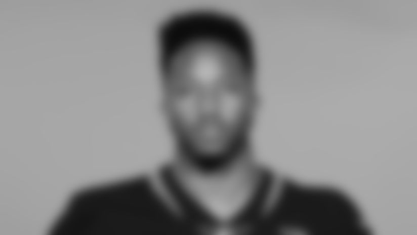 This is a 2019 photo of Cedric Ogbuehi of the Jacksonville Jaguars NFL football team. This image reflects the active roster as of Tuesday, May 14, 2019 when this image was taken. (AP Photo)