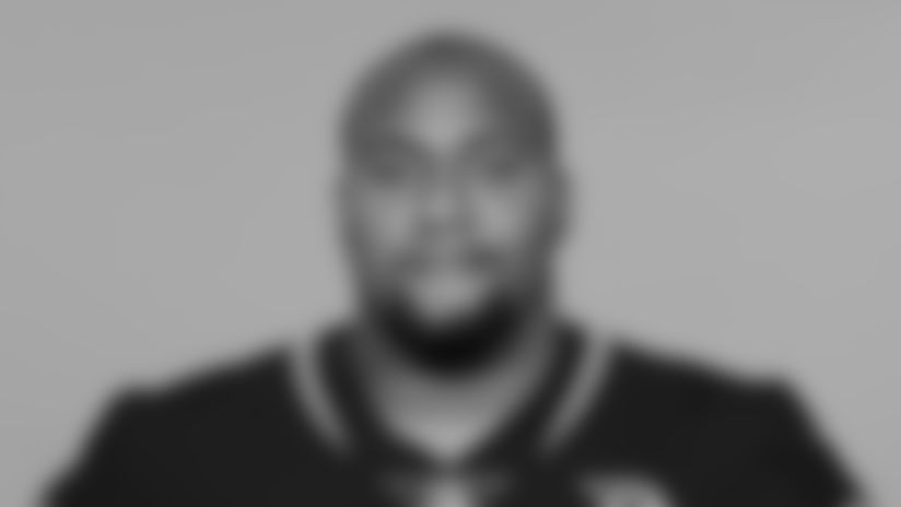 This is a 2019 photo of Brandon Thomas of the Jacksonville Jaguars NFL football team. This image reflects the active roster as of Tuesday, May 14, 2019 when this image was taken. (AP Photo)