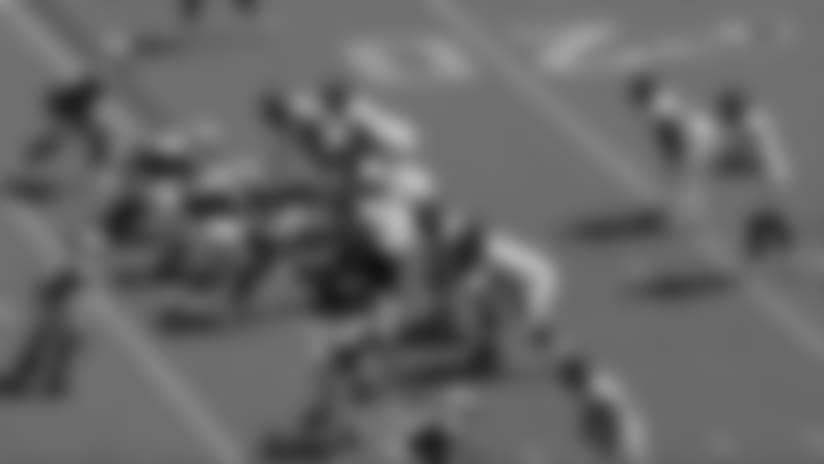 Bortles skates through Jets defenders for 23-yard QB scramble