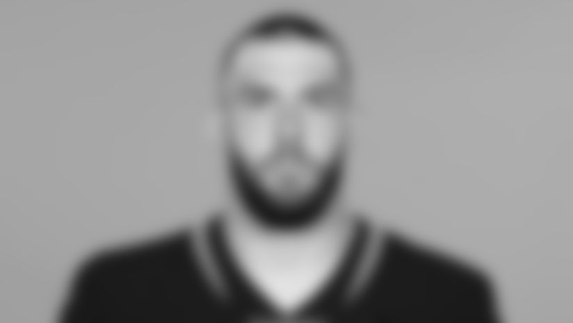 This is a 2019 photo of Geoff Swaim of the Jacksonville Jaguars NFL football team. This image reflects the active roster as of Tuesday, May 14, 2019 when this image was taken. (AP Photo)
