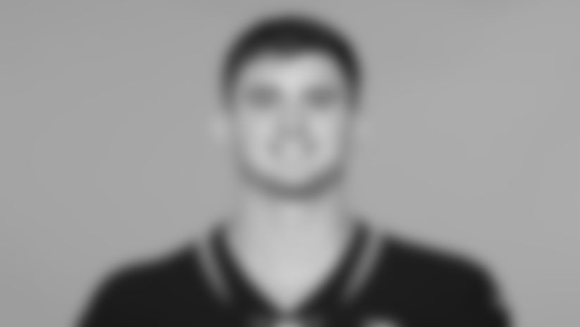 This is a 2019 photo of Michael Colubiale of the Jacksonville Jaguars NFL football team. This image reflects the active roster as of Tuesday, May 14, 2019 when this image was taken. (AP Photo)