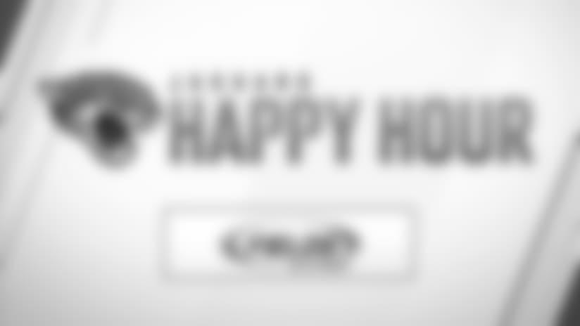 Jaguars Happy Hour: Wednesday, September 12