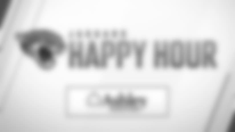 Jaguars Happy Hour: Thursday, October 25