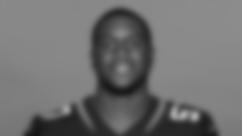 This is a 2020 photo of Nate Evans of the Jacksonville Jaguars NFL football team. This image reflects the Jaguars active roster as of August 23, 2020 when this image was taken. (AP Photo)