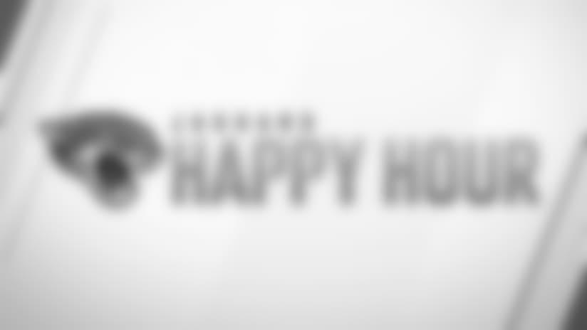 Jaguars Happy Hour: Monday, August 27