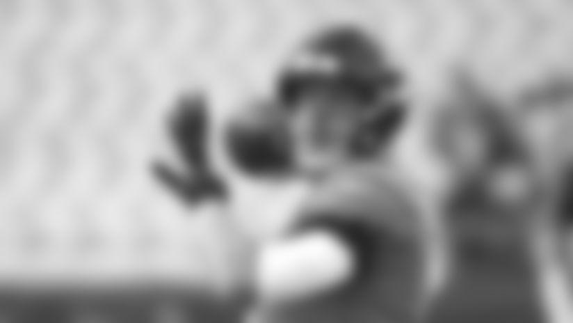 Jacksonville Jaguars quarterback Nick Foles warms up before an NFL preseason football game against the Philadelphia Eagles, Thursday, Aug. 15, 2019, in Jacksonville, Fla. (AP Photo/Stephen B. Morton)